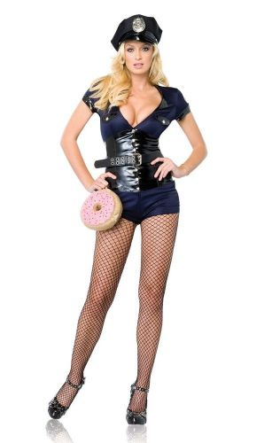 Madame Officer - Sexy Fancy Dress (Leg Avenue 83565)